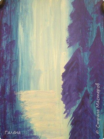 Сегодня,я бы хотела пригласить вас в волшебный, зачарованный лес.Чтобы побывать там со мной,запаситесь бумагой,красками и кистями. фото 9