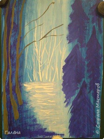 Сегодня,я бы хотела пригласить вас в волшебный, зачарованный лес.Чтобы побывать там со мной,запаситесь бумагой,красками и кистями. фото 11