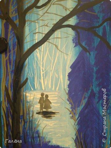 Сегодня,я бы хотела пригласить вас в волшебный, зачарованный лес.Чтобы побывать там со мной,запаситесь бумагой,красками и кистями. фото 13