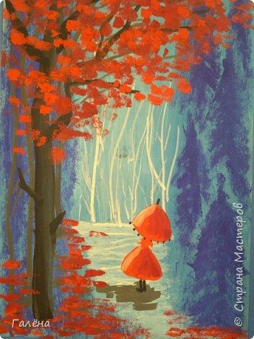 Сегодня,я бы хотела пригласить вас в волшебный, зачарованный лес.Чтобы побывать там со мной,запаситесь бумагой,красками и кистями. фото 1