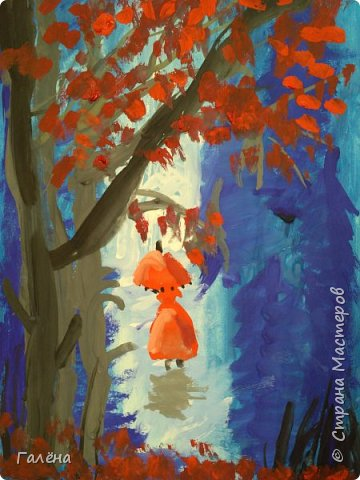 Сегодня,я бы хотела пригласить вас в волшебный, зачарованный лес.Чтобы побывать там со мной,запаситесь бумагой,красками и кистями. фото 24
