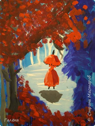 Сегодня,я бы хотела пригласить вас в волшебный, зачарованный лес.Чтобы побывать там со мной,запаситесь бумагой,красками и кистями. фото 25