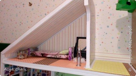 """Решила сделать своей дочке кукольный домик своими руками, поскольку все покупные дома либо слишком дорогие, либо хлипкие, либо не отвечают параметрам """"жильцов"""". Искала долго из чего же его сотворить... с лобзиком дружба не заладилась, а из картона - не долговечный...нашла! Конечно, пеноплекс!!! фото 7"""
