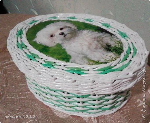 Шкатулочка с собачкой. фото 3