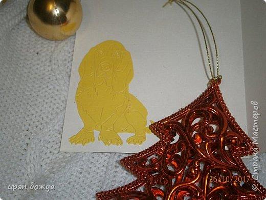 Сегодня я с открытками. Обе сделаны в предверии нового года, только красненькая выполняла роль двух открыток сразу- и на Новый годи и на день Рождение.  фото 8