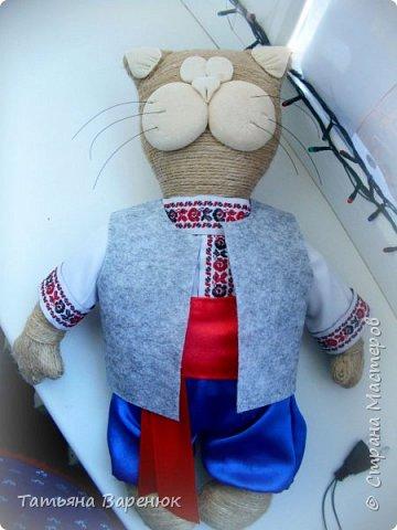 Котик Матвiй з душею справжнього українця  Ось такого патрiотичного котика мы з сыночком зробили для шкiльного конкурса. фото 9