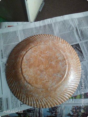 тарелка декупаж фото 2