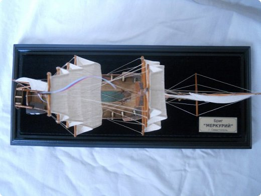 "Модель брига ""Меркурий"" фото 11"