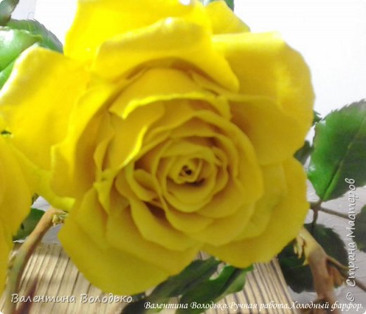 Добрый день мастера и мастерицы!!!!Сегодня у меня яркие желтые розы,лучшее средство для понятие настроения промозглым зимним днем!!! фото 4