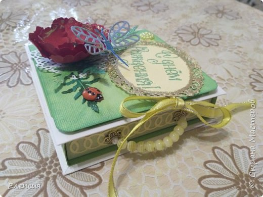 Ко Дню рождения подарочная коробочка. фото 7