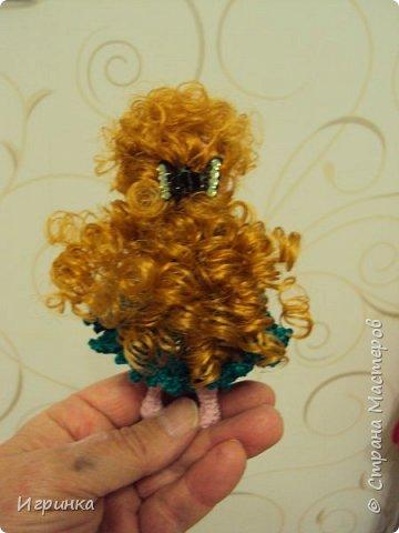 Доброго времени суток всем труженикам страны! На Ваш суд куколка, связанная в онлайне Dj Olechka на форуме амигуруми. фото 3