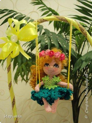 Доброго времени суток всем труженикам страны! На Ваш суд куколка, связанная в онлайне Dj Olechka на форуме амигуруми. фото 1