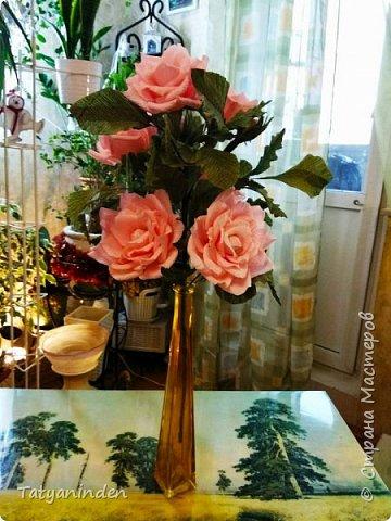 Розы с конфетами фото 4