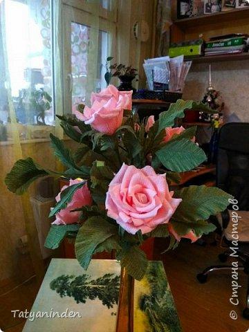 Розы с конфетами фото 5