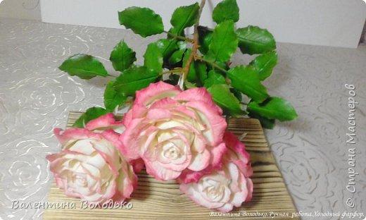 Добрый день мастера и мастерицы!!!!Очередные розы представляю вашему вниманию!!! фото 6