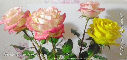 Добрый день мастера и мастерицы!!!!Очередные розы представляю вашему вниманию!!! фото 2