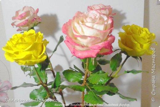 Добрый день мастера и мастерицы!!!!Очередные розы представляю вашему вниманию!!! фото 9