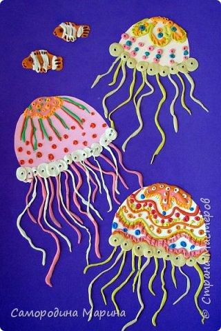 медуз можно сделать  в нескольких вариантах фото 1