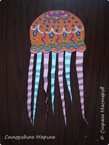 медуз можно сделать  в нескольких вариантах фото 2