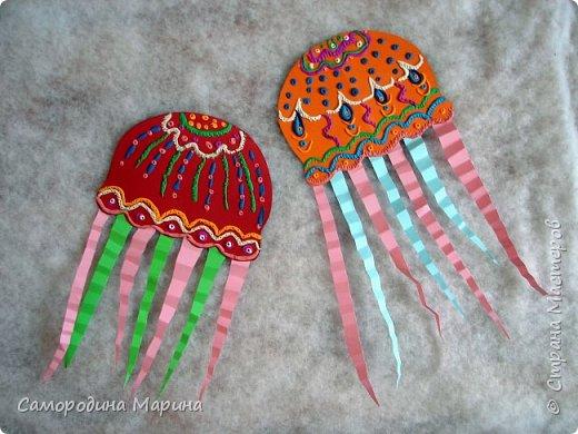 медуз можно сделать  в нескольких вариантах фото 3