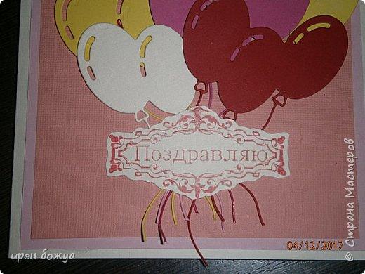 Всем привет. Сегодня у меня две разноплановые открытки. С шарами- это пришел новый ножик для машинки и такая с птичкой- бумага дюже красивая. фото 10