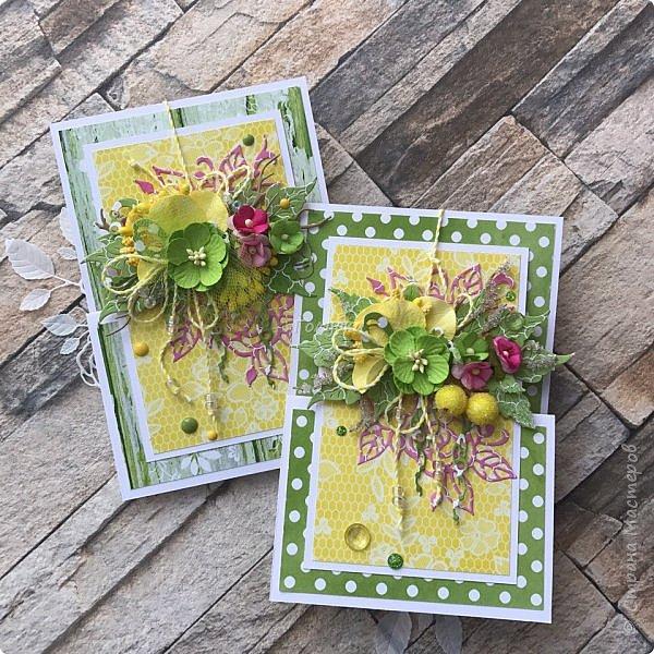 Вот такие три открыточки из одной коллекции:) Яркие, сочные,  бодрящие:)) фото 1