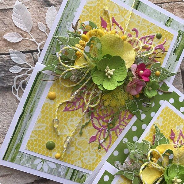 Вот такие три открыточки из одной коллекции:) Яркие, сочные,  бодрящие:)) фото 2