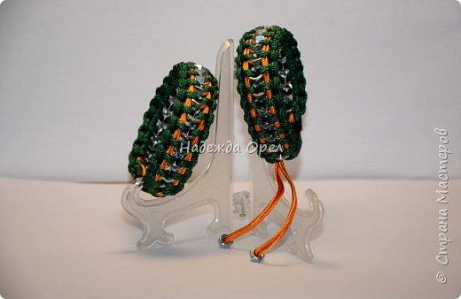 браслеты для двоих - шнур и гайки