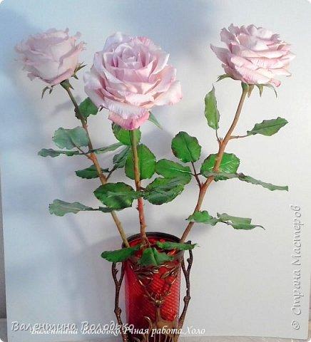Добрый день мастера и мастерицы!!!!С первым днем весны!!!!Хоть сегодня у нас на улице пурга,весна уже наступила и пускай эти розы порадуют вас!!! фото 2