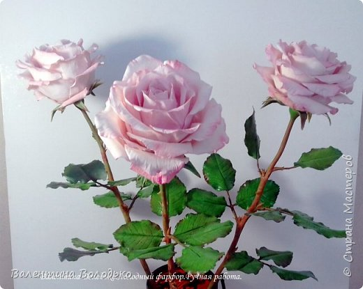Добрый день мастера и мастерицы!!!!С первым днем весны!!!!Хоть сегодня у нас на улице пурга,весна уже наступила и пускай эти розы порадуют вас!!! фото 3