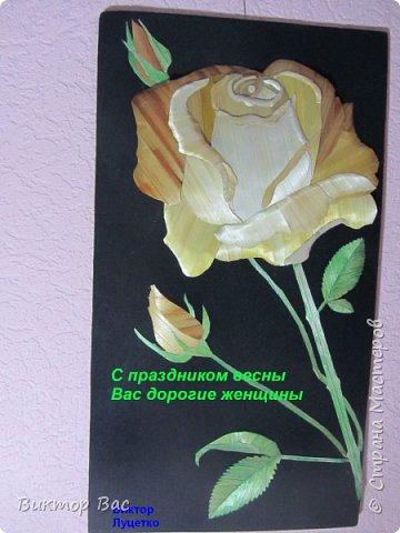 И эти соломенные цветы для вас мастерицы из Страны мастеров.Поздравляю Вас с наступающим праздником весны 8 марта и желаю дальнейших творческих успехов. фото 2