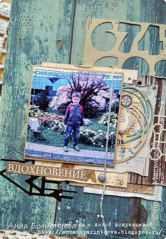 """Всем привет!!!!! Покажу сегодня альбом, который о том как мы провели вторую половину 1 сентября. Мы поехали в зоопарк. А чтобы этот альбом появился, я участвовала в СП Елены Моргун """" История в картинках"""". Этот проект проходил в инстаграмме, ОЭ были фотографии, т.е. обязательно делать альбом уже с напечатанными фото. Была полная свобода в творчестве)))))) И с двумя разворотами я вошла в 9 )))) Размер страничек 15*22 см, 4 разворота. В альбоме 26 фото, разного размера. Но все желаемые фото, попали в альбом. А теперь много фото, особенно деталей поближе))))) фото 10"""