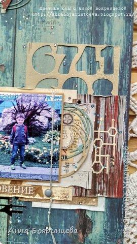"""Всем привет!!!!! Покажу сегодня альбом, который о том как мы провели вторую половину 1 сентября. Мы поехали в зоопарк. А чтобы этот альбом появился, я участвовала в СП Елены Моргун """" История в картинках"""". Этот проект проходил в инстаграмме, ОЭ были фотографии, т.е. обязательно делать альбом уже с напечатанными фото. Была полная свобода в творчестве)))))) И с двумя разворотами я вошла в 9 )))) Размер страничек 15*22 см, 4 разворота. В альбоме 26 фото, разного размера. Но все желаемые фото, попали в альбом. А теперь много фото, особенно деталей поближе))))) фото 12"""