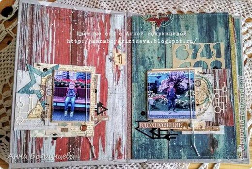 """Всем привет!!!!! Покажу сегодня альбом, который о том как мы провели вторую половину 1 сентября. Мы поехали в зоопарк. А чтобы этот альбом появился, я участвовала в СП Елены Моргун """" История в картинках"""". Этот проект проходил в инстаграмме, ОЭ были фотографии, т.е. обязательно делать альбом уже с напечатанными фото. Была полная свобода в творчестве)))))) И с двумя разворотами я вошла в 9 )))) Размер страничек 15*22 см, 4 разворота. В альбоме 26 фото, разного размера. Но все желаемые фото, попали в альбом. А теперь много фото, особенно деталей поближе))))) фото 4"""