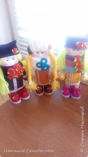 Мои новые кукляхи и еще 5 впереди.......