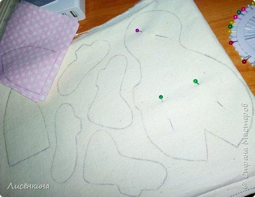 """Добрый день мастера и мастерицы. Давно я хотела научиться шить кукол """"Тильда"""" и вот наконец то решилась. Покажу вам сегодня мою первую куклу в стиле Тильда, это моя зайка))) Зайку зовут Степанида. фото 3"""