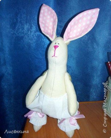 """Добрый день мастера и мастерицы. Давно я хотела научиться шить кукол """"Тильда"""" и вот наконец то решилась. Покажу вам сегодня мою первую куклу в стиле Тильда, это моя зайка))) Зайку зовут Степанида. фото 17"""