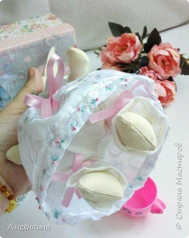 """Добрый день мастера и мастерицы. Давно я хотела научиться шить кукол """"Тильда"""" и вот наконец то решилась. Покажу вам сегодня мою первую куклу в стиле Тильда, это моя зайка))) Зайку зовут Степанида. фото 19"""