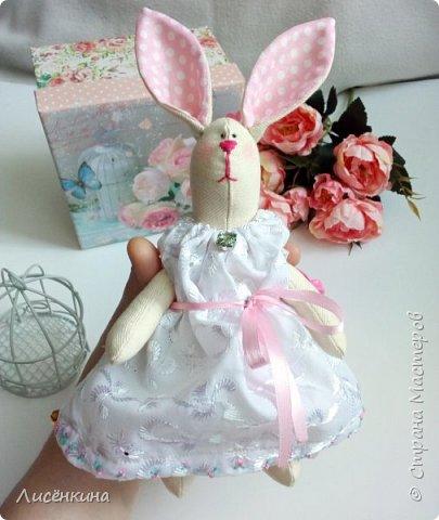 """Добрый день мастера и мастерицы. Давно я хотела научиться шить кукол """"Тильда"""" и вот наконец то решилась. Покажу вам сегодня мою первую куклу в стиле Тильда, это моя зайка))) Зайку зовут Степанида. фото 26"""