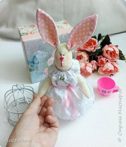 """Добрый день мастера и мастерицы. Давно я хотела научиться шить кукол """"Тильда"""" и вот наконец то решилась. Покажу вам сегодня мою первую куклу в стиле Тильда, это моя зайка))) Зайку зовут Степанида. фото 27"""