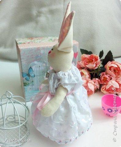 """Добрый день мастера и мастерицы. Давно я хотела научиться шить кукол """"Тильда"""" и вот наконец то решилась. Покажу вам сегодня мою первую куклу в стиле Тильда, это моя зайка))) Зайку зовут Степанида. фото 28"""