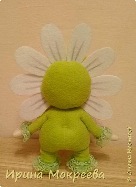 Малыш-цветочек , высота 25 см.( Автор образа Оксана Фетисова) фото 2