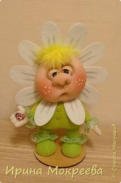 Малыш-цветочек , высота 25 см.( Автор образа Оксана Фетисова) фото 1