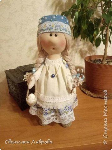 Здравствуйте мастера и мастерицы! Разрешите представить вам Весняну (Весенняя). Куколка сделана на заказ к празднику Пасхе. фото 5