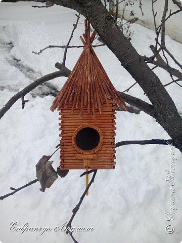 Домик для пташечки