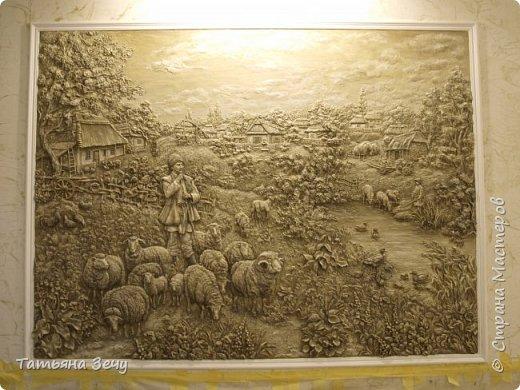 """Всем доброго времени суток.Не очень давно, я делилась с вами нашими работами в отеле """"Бессарабия"""", в городе Измаиле. Выкладываю на ваше обозрение последние мои работы. Бессарабия славится охотой и рыбалкой,а также в нашем регионе развито овцеводство,сельское хозяйство и виноделие.Темы охоты и овцеводства выпало отобразить мне. фото 1"""