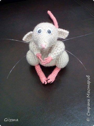 Здравствуйте!  Сегодня делюсь с вами крысюшкой Мартой. Амигуруми, акриловая пряжа, синтепон, около 10см в высоту. По ходу вязания я записывала, что делала, поэтому, если крысюха вам понравилась, в последнем посте будет полное описание.  фото 1