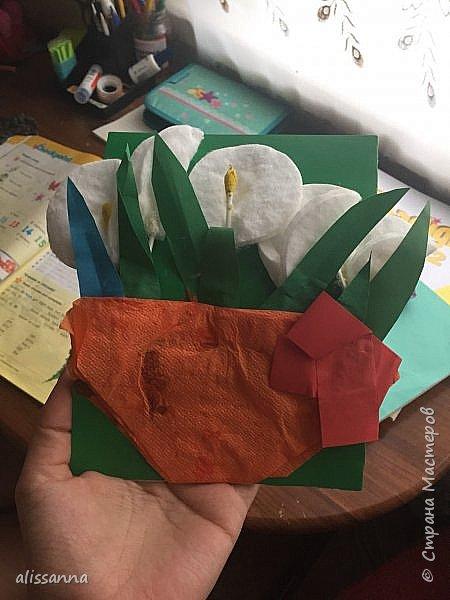 Доброе время суток...жители Страны...))) делали мы для наших мам открытки...))) вот что у нас получилось...работы не все...остались те....которые не успели подарить...))) Не судите нас строго....мы старались...))) фото 14