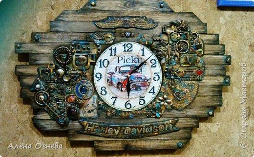 Часы в Автомастерскую . Стимпанк . фото 1