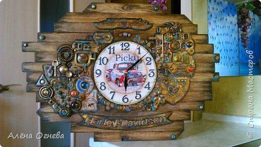 Часы в Автомастерскую . Стимпанк . фото 10